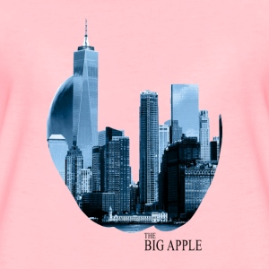 The Big Apple - Premium T-skjorte for kvinner