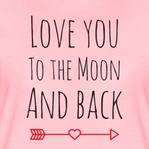 Love you to the moon - Women's Premium T-Shirt