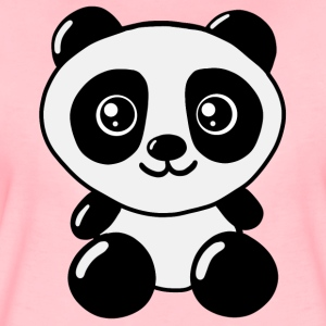Panda - Cute Panda Girls / Women Present - Frauen Premium T-Shirt