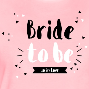 Bridetobe Wimpeldesign - Frauen Premium T-Shirt