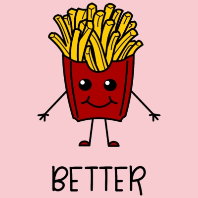 French Fries Better Partnerlook part1