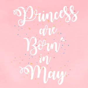 Princess are born in may - Women's Premium T-Shirt