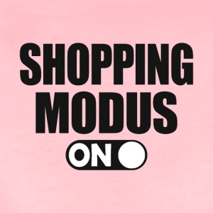 shopping-modus - Premium T-skjorte for kvinner