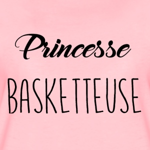 basketbal prinses - Vrouwen Premium T-shirt