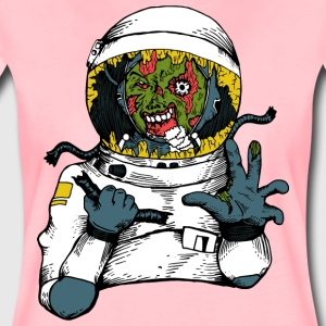 Space Virus - Frauen Premium T-Shirt