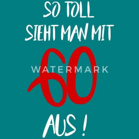 60 Geburtstag Geschenkidee Sprüche Frauen Premium T Shirt