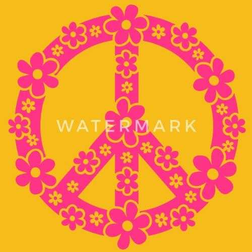 Peace Symbol Symbool Van De Vrede C Symbol Of Freedom Flower