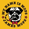My Name is Mops - James Mops 03 Brille - Premium-T-shirt dam