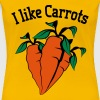Vegetables I like carrots organic garden - Women's Premium T-Shirt