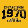 established 1970 - aged to perfection(uk) - Women's Premium T-Shirt