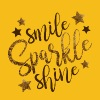 Smile Sparkle Shine Shirt - Women's Premium T-Shirt