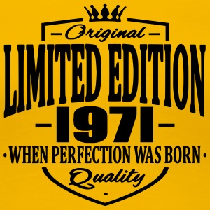 Limited edition 1971 - Premium T-skjorte for kvinner