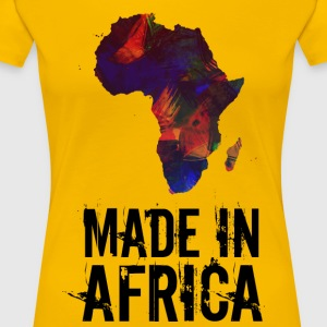 Made In Africa / Afrique - T-shirt Premium Femme