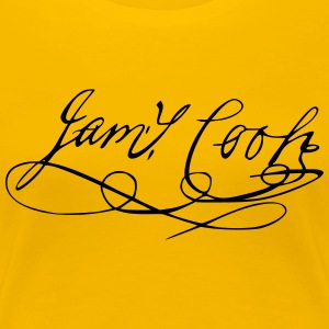 James Cook Autogramm - Frauen Premium T-Shirt