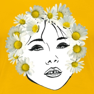 Flower girl white - Women's Premium T-Shirt