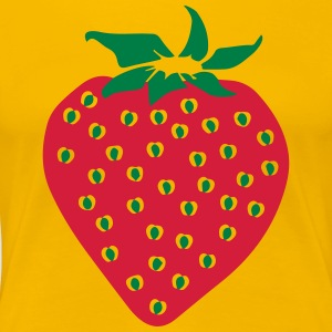 Strawberry - Strawberry - Women's Premium T-Shirt