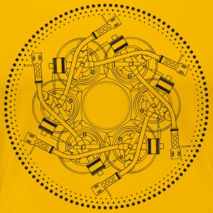 mandala turntable 1210 - Women's Premium T-Shirt