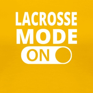 MODE ON LACROSSE - Women's Premium T-Shirt
