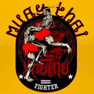 Muay Thai Fighter - Premium T-skjorte for kvinner