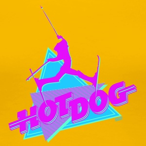 Hot Dog The Movie - Naisten premium t-paita
