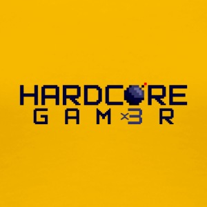 Hardcor3 Gam3r - Premium-T-shirt dam