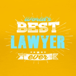 World's Greatest Lawyer - Women's Premium T-Shirt