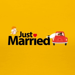Just Married - T-shirt Premium Femme