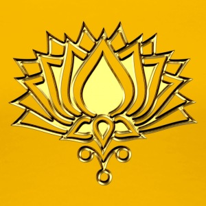 GOLDEN LOTUS/ c /symbol of divinity, enlightenment and higher consciousness/ LOTOS I