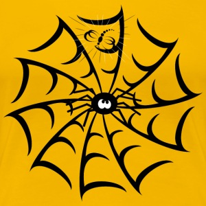 Spider in her web - Women's Premium T-Shirt