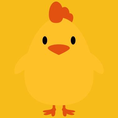 kyllinger tager stor pik