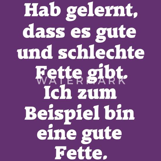 Gute Fette Dicke Frau Fun Lustige Sprüche Spruch Frauen Premium T Shirt Lila