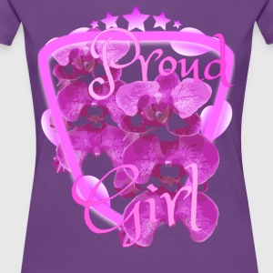 Bold Girl Flower Collection 1 - Women's Premium T-Shirt