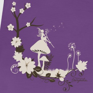 FairyWish - Fairy in the magic forest with Pusteblume - Women's Premium T-Shirt