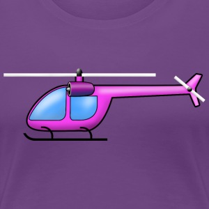 Helicopter pink - Women's Premium T-Shirt