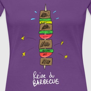 Queen of the Barbecue - Women's Premium T-Shirt