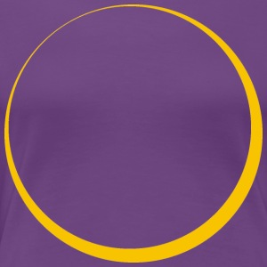 ECLIPSE - Yellow Sun - Dame premium T-shirt
