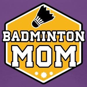 badminton Mom - Women's Premium T-Shirt