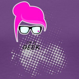 Geek woman - Women's Premium T-Shirt