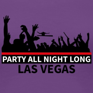 LAS VEGAS - Party - Premium T-skjorte for kvinner