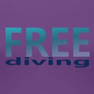 freediving - Women's Premium T-Shirt