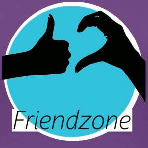 friend zone - Women's Premium T-Shirt