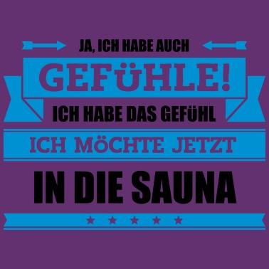 Lustiger Sauna Spruch Frauen Premium Hoodie Spreadshirt