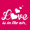 Love is in the air - Maglietta Premium da donna