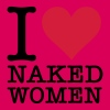 I love naked women! - Women's Premium T-Shirt