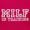 milf in training - Women's Premium T-Shirt