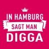 In Hamburg sagt man DIGGA - Frauen Premium T-Shirt