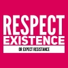 respect existence or expect resistance - Women's Premium T-Shirt