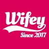 Wifey since 2017 (couples) - Premium-T-shirt dam