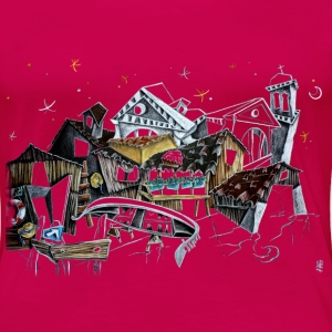 Venice T-shirts - Gondola Night Dream - Fashion Italy