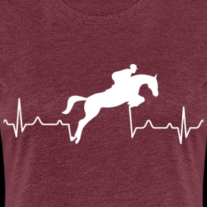 Heartbeat of a rider - show jumping